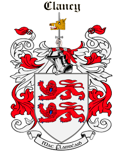 CLANCY family crest