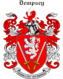 DEMPSEY family crest
