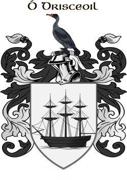 O'DRISCOLL family crest