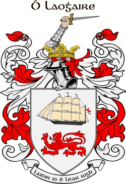 LEARY family crest