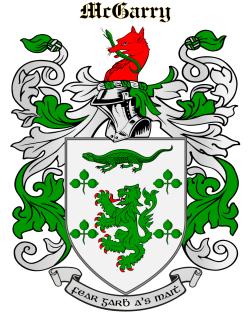 MCGARRY family crest