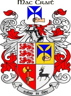 MCGRATH family crest