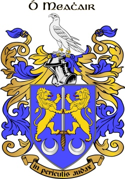 MAHER family crest