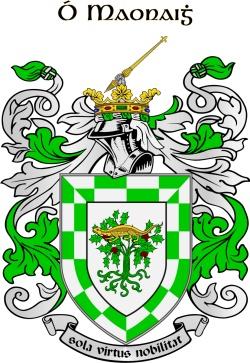 MOONEY family crest