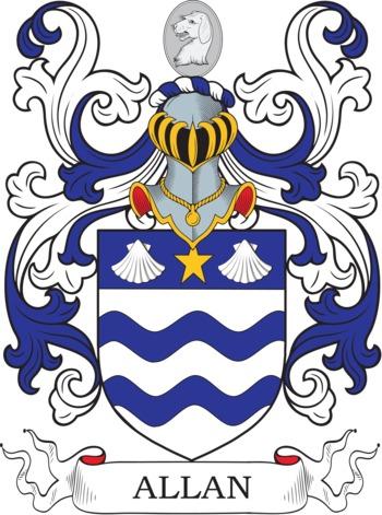 ALLAN family crest