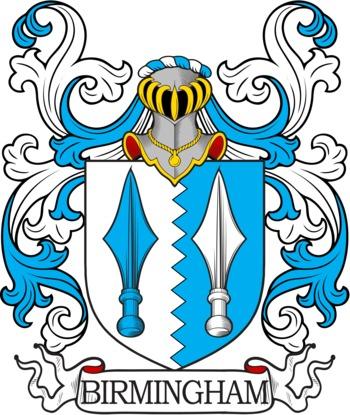 BIRMINGHAM family crest