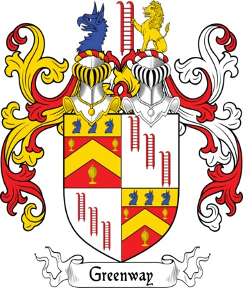 GREENWAY family crest