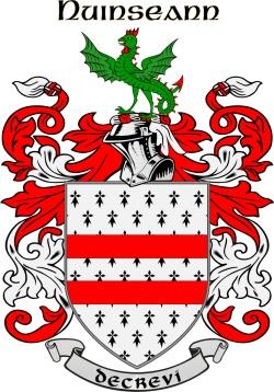 NUGENT family crest